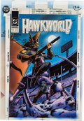 Original Comic Art:Miscellaneous, Hawkworld #9 Cover Hand-Colored Production Art (DC, 1991). ...