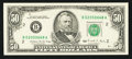 Error Notes:Ink Smears, Fr. 2123-B $50 1988 Federal Reserve Note. Gem Crisp Uncirculated.....