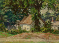Fine Art - Painting, European:Modern  (1900 1949)  , Wojciech Weiss (Polish, 1875-1950). Old Mill, 1894. Oil onboard. 9-1/2 x 12-1/2 inches (24.1 x 31.8 cm). Signed and dat...
