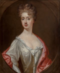 Fine Art - Painting, European:Antique  (Pre 1900), Manner of Sir Godfrey Kneller (19th Century). Lady MaryCompton. Oil on canvas. 30-1/4 x 25 inches (76.8 x 63.5 cm)....