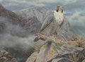 Paintings, Willem Sternberg De Beer (South African, b. 1941). Bird of Prey. Oil on canvas. 18 x 24 inches (45.7 x 61.0 cm). Signed ...