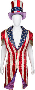"Movie/TV Memorabilia:Costumes, A Carl Weathers Iconic 'American Flag' Elaborate 'Light Up' Costume from ""Rocky IV.""..."