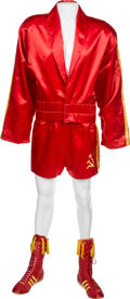 "Movie/TV Memorabilia:Costumes, The Dolph Lundgren Costume from ""Rocky IV.""..."