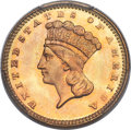 1877 G$1 MS67+ PCGS Secure. CAC....(PCGS# 7578)