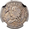 Early Half Dimes, 1792 H10C Half Disme, Judd-7, Pollock-7, R.4, VG10 NGC.... (Total:2 coins)