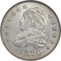 Bust Dimes, 1820 10C Medium 0, JR-11, R.3, MS64 NGC....