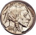 Proof Buffalo Nickels, 1936 5C Type Two -- Brilliant Finish PR68 NGC....