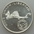 Central American Union, Central American Union: 20th Anniversary Proof Pair 1971,... (Total: 2 coins)