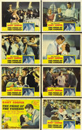 "Movie Posters:Sports, The Pride of the Yankees (RKO, 1942). Lobby Card Set of 8 (11"" X14""). ... (Total: 8 Items)"
