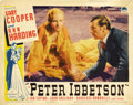 """Movie Posters:Romance, Peter Ibbetson (Paramount, 1935). Lobby Cards (3) (11"""" X 14""""). ... (Total: 3 Items)"""