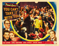 "Movie Posters:Comedy, You Can't Take It With You (Columbia, 1938). Lobby Cards (2) (11"" X14""). ... (Total: 2 Items)"