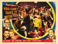 "You Can't Take It With You (Columbia, 1938). Lobby Cards (2) (11"" X 14""). ... (Total: 2 Items)"