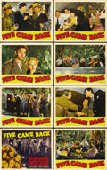 "Movie Posters:Drama, Five Came Back (RKO, 1939). Lobby Card Set of 8 (11"" X 14""). ...(Total: 8 Items)"