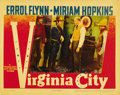 "Movie Posters:Western, Virginia City (Warner Brothers, 1940). Lobby Card (11"" X 14"")...."