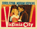 "Movie Posters:Western, Virginia City (Warner Brothers, 1940). Lobby Cards (2) (11"" X14"").... (Total: 2 Items)"