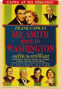"Movie Posters:Drama, Mr. Smith Goes To Washington (Columbia, 1939). Midget Window Card(8"" X 12""). ..."