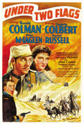 "Movie Posters:Adventure, Under Two Flags (20th Century Fox, 1936). One Sheet (27"" X 41"")Style B. ..."