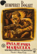 "Movie Posters:War, Passage to Marseille (Warner Brothers, 1944). Spanish One Sheet(27"" X 39.5""). ..."