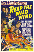 """Movie Posters:Adventure, Reap the Wild Wind (Paramount, 1942). One Sheet (27"""" X 41""""). ..."""