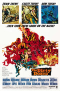"Movie Posters:War, The Dirty Dozen (MGM, 1967). One Sheet (27"" X 41""). ..."