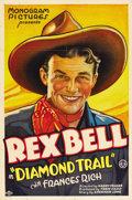 """Movie Posters:Action, The Diamond Trail (Monogram, 1933). One Sheet (27"""" X 41""""). ..."""