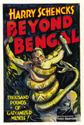"""Movie Posters:Adventure, Beyond Bengal (Showmens Pictures, 1934). One Sheet (27"""" X 41""""). ..."""