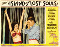 "Movie Posters:Horror, Island of Lost Souls (Paramount, 1933). Lobby Card (11"" X 14""). ..."