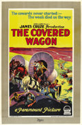 "Movie Posters:Western, The Covered Wagon (Paramount, 1923). One Sheet (27"" X 41"") Style C...."