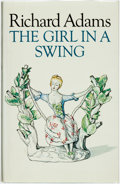 Books:Fiction, Richard Adams. SIGNED. The Girl in the Swing. [Allen Lane, 1980]....