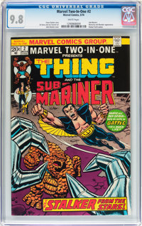 Marvel Two-In-One #2 The Thing and the Sub-Mariner (Marvel, 1974) CGC NM/MT 9.8 White pages