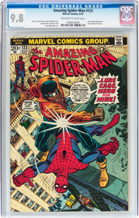 The Amazing Spider-Man #123 (Marvel, 1973) CGC NM/MT 9.8 Off-white to white pages