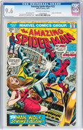 Bronze Age (1970-1979):Superhero, The Amazing Spider-Man #125 (Marvel, 1973) CGC NM+ 9.6 Off-white to white pages....