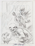 Original Comic Art:Covers, John Romita Sr. Darkhold: Pages from the Book of Sins #15Cover Preliminary Sketch Original Art (Marvel, 1993)....