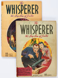 Pulps:Detective, The Whisperer Group of 2 (Street & Smith, 1941-42) Condition: Average VG-.... (Total: 2 Items)