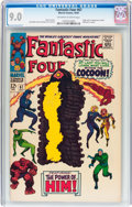 Silver Age (1956-1969):Superhero, Fantastic Four #67 (Marvel, 1967) CGC VF/NM 9.0 Off-white to white pages....