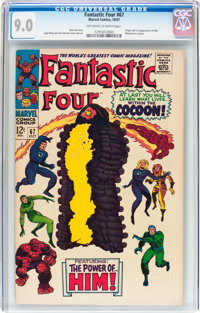 Fantastic Four #67 (Marvel, 1967) CGC VF/NM 9.0 Off-white to white pages