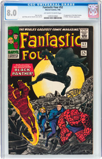 Fantastic Four #52 (Marvel, 1966) CGC VF 8.0 Off-white to white pages