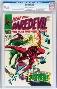 Daredevil #42 (Marvel, 1968) CGC NM+ 9.6 Off-white to white pages