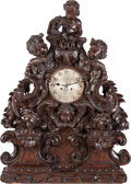 Decorative Arts, Continental:Other , A Gustav Becker Black Forest Mantle Clock with Putti, circa 1900.Marks to mechanism: Gustav Becker. 35-1/2 inches high ...