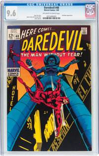 Daredevil #48 (Marvel, 1969) CGC NM+ 9.6 Off-white to white pages