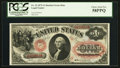 Large Size:Legal Tender Notes, Fr. 22 $1 1875 Legal Tender PCGS Choice About New 58PPQ.. ...