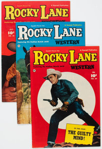 Rocky Lane Western Group of 8 Crowley Copies (Fawcett Publications, 1952-53) Condition: Average VF+.... (Total: 8 Comic...