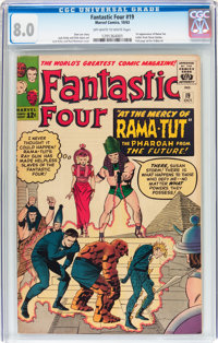 Fantastic Four #19 (Marvel, 1963) CGC VF 8.0 Off-white to white pages