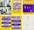 Music Memorabilia:Memorabilia, Beatles Original Souvenir Programs from Both Christmas Shows (London, 1963-65)....