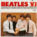Music Memorabilia:Recordings, Beatles VI Sealed Mono LP (Capitol 2358, 1965)....