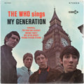 Music Memorabilia:Recordings, The Who My Generation Sealed Stereo LP (Decca 74664,1966)....