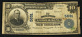 National Bank Notes:West Virginia, Montgomery, WV - $10 1902 Plain Back Fr. 633 The Montgomery NB Ch. # 5691. ...