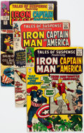 Silver Age (1956-1969):Superhero, Tales of Suspense Group of 28 (Marvel, 1964-68) Condition: Average VG.... (Total: 28 Comic Books)