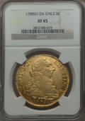 Chile, Chile: Charles III gold 8 Escudos 1788 So-DA XF45 NGC,...