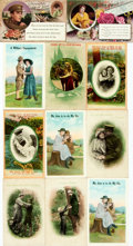 Miscellaneous:Postcards, [Postcards]. [World War I]. Group of Eleven with a Military/RomanceTheme. Various publishers, circa 1918. ...